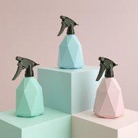 Molhando equipamentos 600ml criatividade plástico prismático frasco de pulverizador home água a flor despeje portátil recipiente recipiente recipiente atomiz