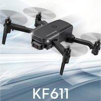Dropship KF611 Дрон 4k HD Camera Professional Воздушная фотография Вертолет 1080P Широкоугольная камера Wi-Fi Изображение передач Детский подарок