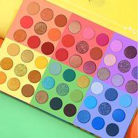 Coco Urban 6 en 1 caramelos salpicados 54 colores Paleta de sombra de ojos Vivid Ver verano Mirar Ojos Maquillaje Glitter Shimmer Matte Sombra de ojos Polvo