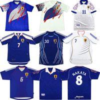 2006 Retro Japão Nakata Futebol Jersey 1994 1998 2000 2002 Soma Akita Okano Kawaguchi Camisa de futebol Kazu Hattori Maillot antigo