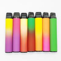 800 펙에 대한 무료 DHL 선적 일회용 vape 펜 장치 포드 스타터 키트 550mAh 배터리 6.5ml 카트리지 빈 기화기 전자 - 담배