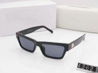 حار جديد الفاخرة أعلى جودة الكلاسيكية الطيار النظارات الشمسية مصمم ماركة أزياء رجالي إمرأة نظارات الشمس النظارات العدسات الزجاج المعدنية مع مربع 4362