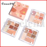 CMAADU Make Makeup 7 Colors Highlighter Maquillaje Contour Breaken Blush Blush Powder Power Teeshadow прессованная палитра косметики 3 стилей