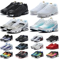 Nike air max tn plus 3 de deporte Hombre Zapatillas de deporte Northern Northern Lights Sea Forest Carbon Grey White Black Red Yellow Trainer Zapatillas deportivas deportivas