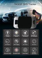 3G TK303F GPS Tracker Car Cut Off Oil GPS Locator Waterproof Vehicle Tracker Realtime Tracking Device Shock Alarm PK TK103B