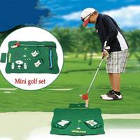 Mini Golf Club Games Игрушечная профессиональная практика Golf Ball Sport Set Детская игрушка Гольф-клуб Практика Мяч Спортивные игры в помещении