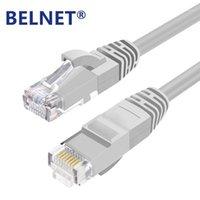Computerkabel-Anschlüsse Belnet High Speed Cat6 RJ45 Patch Ethernet LAN Kabel-Netzwerk 0.33m / 1m / 2m / 3m / 5m / 6m / 10m / 15m / 20m für Router Laptop