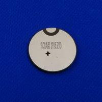 Ultrasons Piezo céramique Disque 28mmx2.07mm-PZT4 1MHz Piezo électrique disque PZT beauté cristaux Chips capteur PZT Chips émetteur