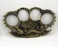 Открытый Женщины Мужчины Череп Дракон Бокс Палец Защитное зубчатое зубчатое кольцо Тигр Латунный Княжка Дастер Качество очень хорошая Рука4649