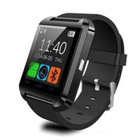 В наличии Умные часы U8 умные часы для SmartWatch Samsung Sony Huawei Android телефоны хорошо с пакетом DZ15
