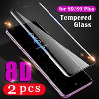 Kapak Samsung Galaxy S20 Ultra S10 Lite S10E S9 S8 Artı S7 Kenar Temperli Cam Koruyucu Film Telefon Ekran Koruyucu