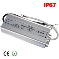 DC 12 V 24V Fuente de alimentación Transformador electrónico 100W 120W 150W 200W 250W 300W LED Lámpara de la lámpara IP67 Alimentación AC 220V 110V a 12V Tira