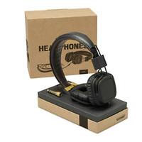 Casque principal avec micro-basse DJ HIFI HIFI casque HIFI casque professionnel DJ Monitor Headphone Drop Ship 1PC