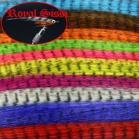 10Packs 10Colors Assorted Fly tying zebra grizzly minnow Fiber Black barred Synthetic hair Fibres streamers flies Tying Material 201019