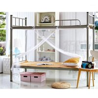 Mosquito Net Netting Student Mosquito Net Bed Curtains Repellent Tent Four Corner Post Student Canopy Bed1