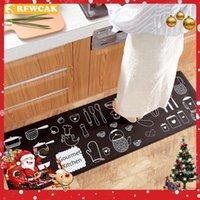 Rfwcak Японский кухонный коврик водонепроницаемый маслозащитный кухонный коврик из ПВХ кожаный антицировый ковер не скользкие износостойкие коврики1