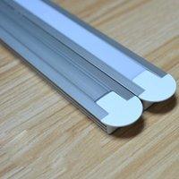 2000mmmx22mmmx11.7mm 2 mètres / PCS 6000 Profil d'aluminium de grade de la série pour la décoration de bandes LED