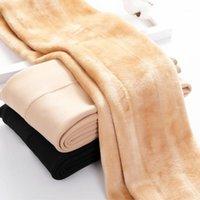 Leggings de mujeres Dentro de espesar Piñón Leggings Women Winter Fleece Pantalones Legging Pantalones Femeninos Velvet Leggins1