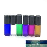 1000 세트 다채로운 향수 샘플 5ml 롤러 유리 병 에센셜 오일 빈 병 롤 - 온 바이알