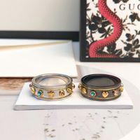 Роскошные полные бриллианты кольца из нержавеющей стали розовые золотые пары кольца мода серебро 18k золотые кольца для женщин мужчины изысканные украшения