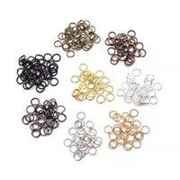 Оптом открытые и закрытые металлические кольца 925 Стерлинговые серебряные кольца разъема для DIY ювелирных изделий