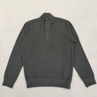 أزياء نصف Zip Sweetshirt جودة عالية تيري قطن البلوز سترة للرجال رجل و نساء مصمم سترة