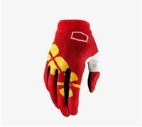 19 Nuevos guantes de carreras de moda, Motocicleta Hombres y mujeres Hombres y mujeres Guantes de dedo completo, Bicicleta de montaña Dedo táctil de pantalla táctil Guantes de dedo largo