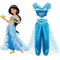 Yofeel Aladdin's Lamp Gelsomino Dress Up Costumi per ragazze bambino Cosplay Arabian Indian Princess Costume Bambini Bambini Dance Abiti Dance Y200102