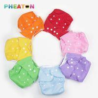 Unikdis S M l Coton ajustable + TPU Couches étanches à l'étanche Baby nouveau-né Changer de coton Coton Pantalon Sassy Fraldas Reutiliza1