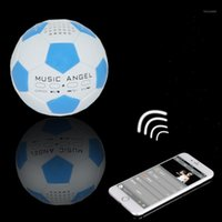 Musik Engel JH-ZQBT3 Roly-Poly-Gravity Mini Rot Fußball Super Bass Stereo TF / AUX MP3-Player Hi-Fi Wireless Bluetooth-Lautsprecher1