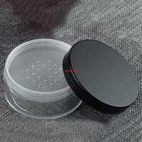 30 stücke 30g 50g leerer kunststoff creme jar diy kosmetische lose pulverbehälter mit siger puff paket fall tappegood paket