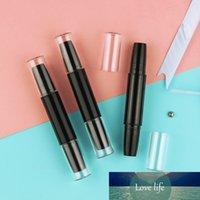 50pcs plastique vide tube à lèvres cosmétiques Contenants de lèvres Lèvres Tube à baume à lèvres double côté cache-bouteille bouteille bouteille tubes
