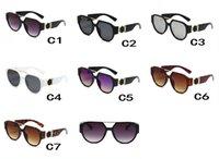 Alta calidad 0105 Moda Gafas de sol Gran Marco de Marco Diseñador de sol Gafas de sol Hombres de verano Mujeres Conducir Conductor Oculos De Sol