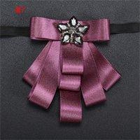Groom Mantieqingway Empresa de negocios TUXEDO Bowtie Cravat Boda Ramo de boda Poliéster Bow Lazos para hombres Blue Gravata