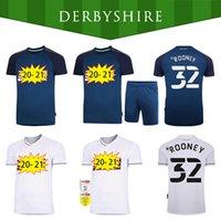 32 Rooney 20 21 Jerseys de fútbol del Condado de Derby 2020 2021 Camisetas de fútbol Marriott Lawrence Waghorn Hombres Kits de niños Camisa de fútbol Uniforme