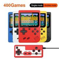 휴대용 핸드 헬드 레트로 게임 콘솔 400 1 게임 소년 게임 플레이어 SUP 클래식 게임 게임 보이 핸드 헬드 선물을위한 게임 패드