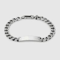 Высококачественный серебристый браслет черепа подарок унисекс хип-хоп браслет мода новый продукт браслет мода ювелирных изделий