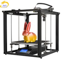 3D Printer Ender-5 Plus Dual Y-axis Motors Glass Build Plate Power off Resume Printing Masks Enclosed Structure