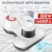 Пылесосы 300 Вт УФ стерилизуют очиститель 16000PA Руководные антиухими клещи Удаление HEPA для кровати Sofa1