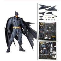 16 سنتيمتر dc مذهلة باتمان الظلام نايت ياماجوتشي ريفولتش No.009 باتمان pvc عمل الشكل جمع لعبة هدية