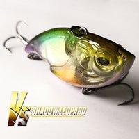 Elitelure V5 Shadow Leopard Vib Blade Seures 50mm / 12g Hundiendo cebo artificial para la pesca de bajo 201106