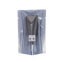 Открытые верхние серые прозрачные электронные аксессуары, защищенные антистатические пакеты сумки компьютера Аксессуар упаковки антистатический пакет