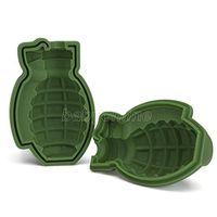 3D grenade glace moule grenade gâteau moule silicone cuisson de cuisson silicone plat plateau moule matières matières moule moule bricolage outil de cuisson CPA2736