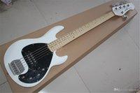 2021 Factory Ernie Ball Music Man Stingray Sunburst Electric Bass 5 String Musicman 9V Pickup attivo
