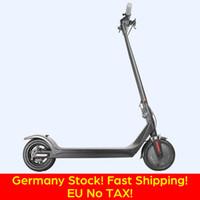 2021 Bicicleta eléctrica caliente sin impuestos 36V 350W Mini bicicleta de ciclomotor de 8,5 pulgadas Plegable Negro 27km / h Bici eléctrico eléctrico EU Stock de alta calidad