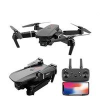 Hobbylane Pro Drone HD Dual Camera Visual Position Position WiFi FPV Drone Brone Сохранение RC Quadcopter LJ201210