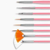 Nak001 venda quente prego pintura caneta manicure Arquivo pregos strass jóias acrílico Nail Art kit unha ferramenta conjunto fácil de usar