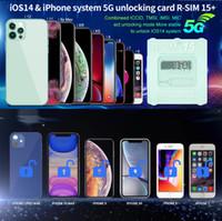 RKSE Oryginalny RSIM 15 R-SIM 15+ R-SIM 14 R SM Smart Activation Unlock Cards Unlocking Card dla iPhone 7 8 x XR XS 11 12 Pro Max do IOS 14