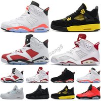 2021 6 6s shoes UNC DMP mens sneakers alternate hare black i...