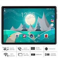 """Android 9.0 Tablet PC 10 pouces Google Play 8 Core RAM 4GB + 32GB ROM 4G LTE Smartphone Android 9 GPS WIFI 1280 * 800 comprimés IPS 10 """"1"""
